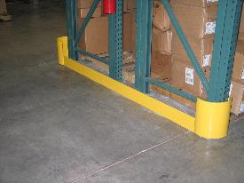 Yellow Rack Protectors